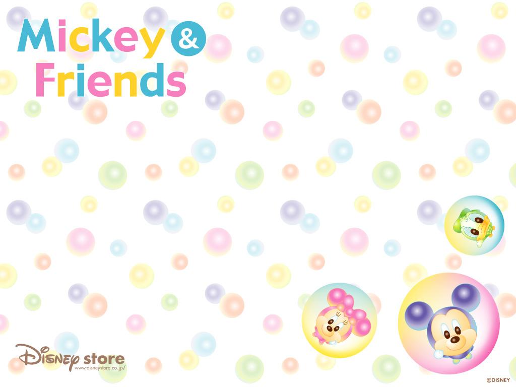 Cute Baby Hd Wallpaper 桌布天堂 迪士尼主題 米奇老鼠桌布(第一集)39